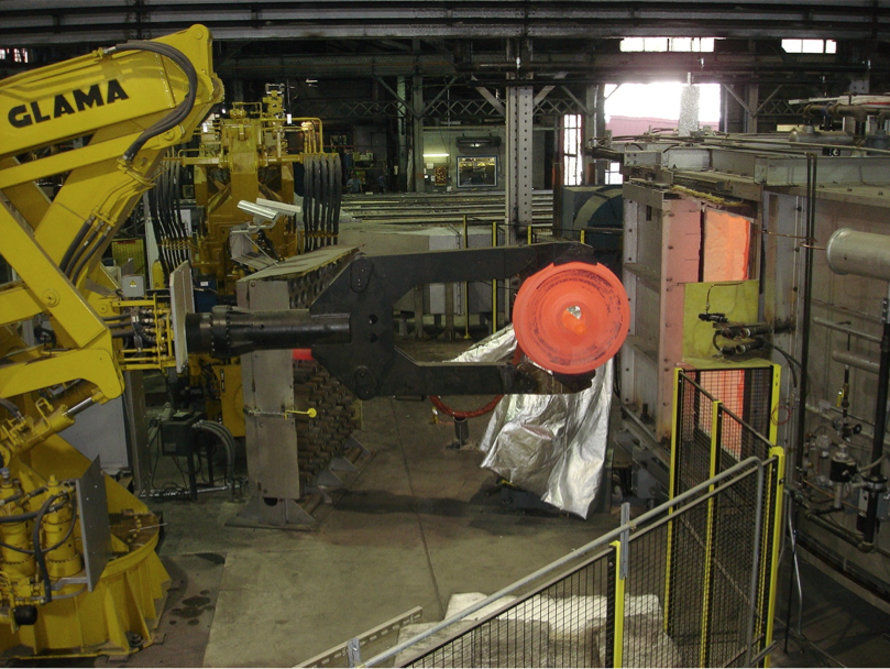 Rotary Furnace Discharge and Material Handling