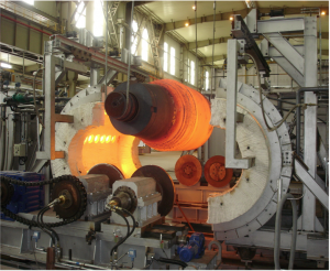 Horizontal Differential Hardening & product rotation during heating