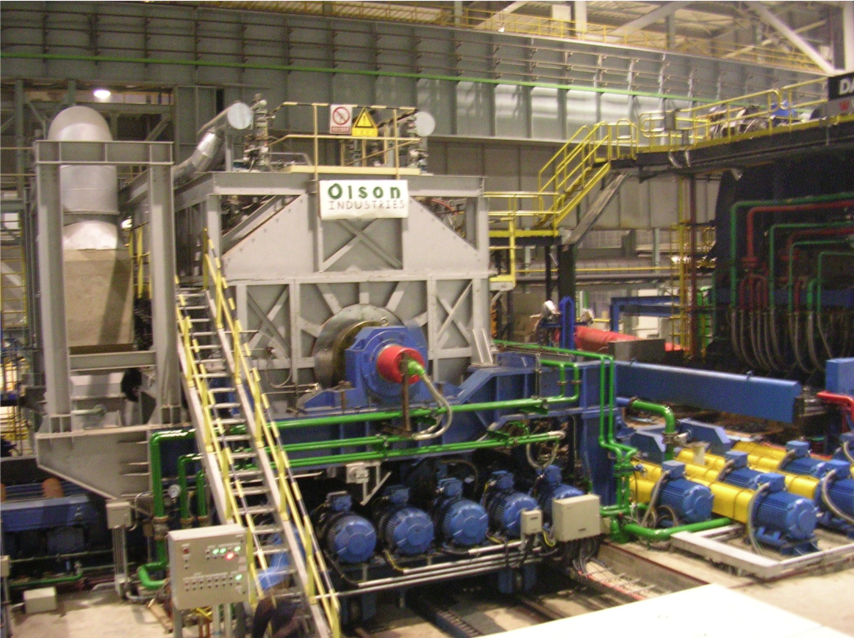 Steckel Furnace for rolling mill