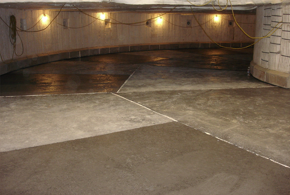 Inside Rotary Hearth Deck 19'-0 wide