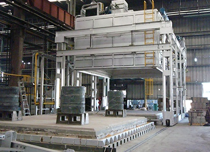 bell furnaces for metal furnaces