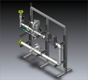 C&C is specialized on fabricating combustion fuel trains