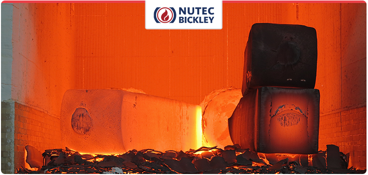 Application of Nutec Bickley's Jointless insulation system in steel heating